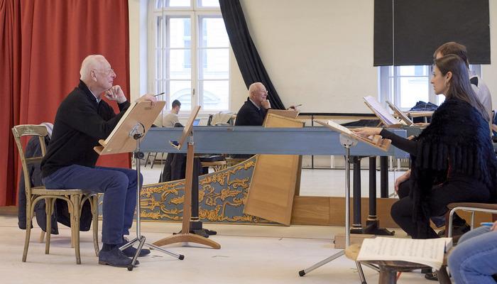 Ariodante 2018 William Christie Wiener Staatsoper Rehearsals 6 Mickael Pohn