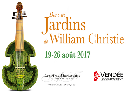 Festival&nbsp;<em>Dans les Jardins de William Christie</em>&nbsp;2017