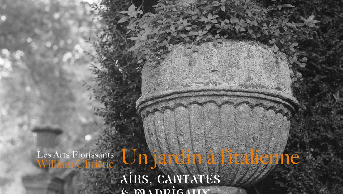 CD Un jardin à l'italienne JDV7