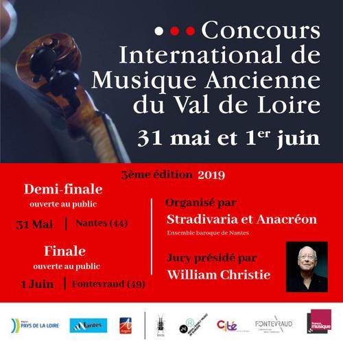 Concours International Musique Ancienne Val de Loire 2019 FR 2