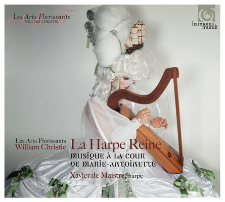 La Harpe Reine Cd Harmonia Mundi