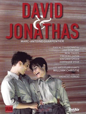 David Et Jonathas Dvd