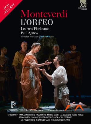 DVD Monteverdi Orfeo Cover