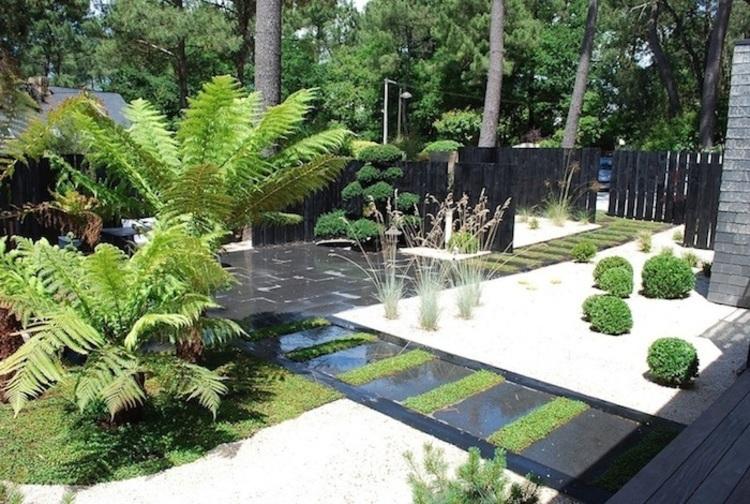 The ripaud de cheffois nurseries for Amenagement jardin 2 niveaux