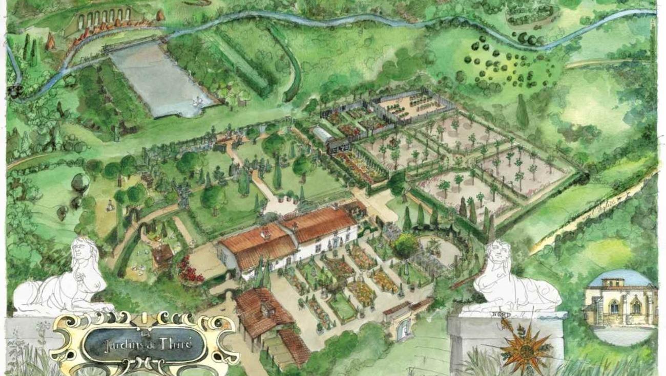 Plan Jardins William Christie 2013 A Boulduyre