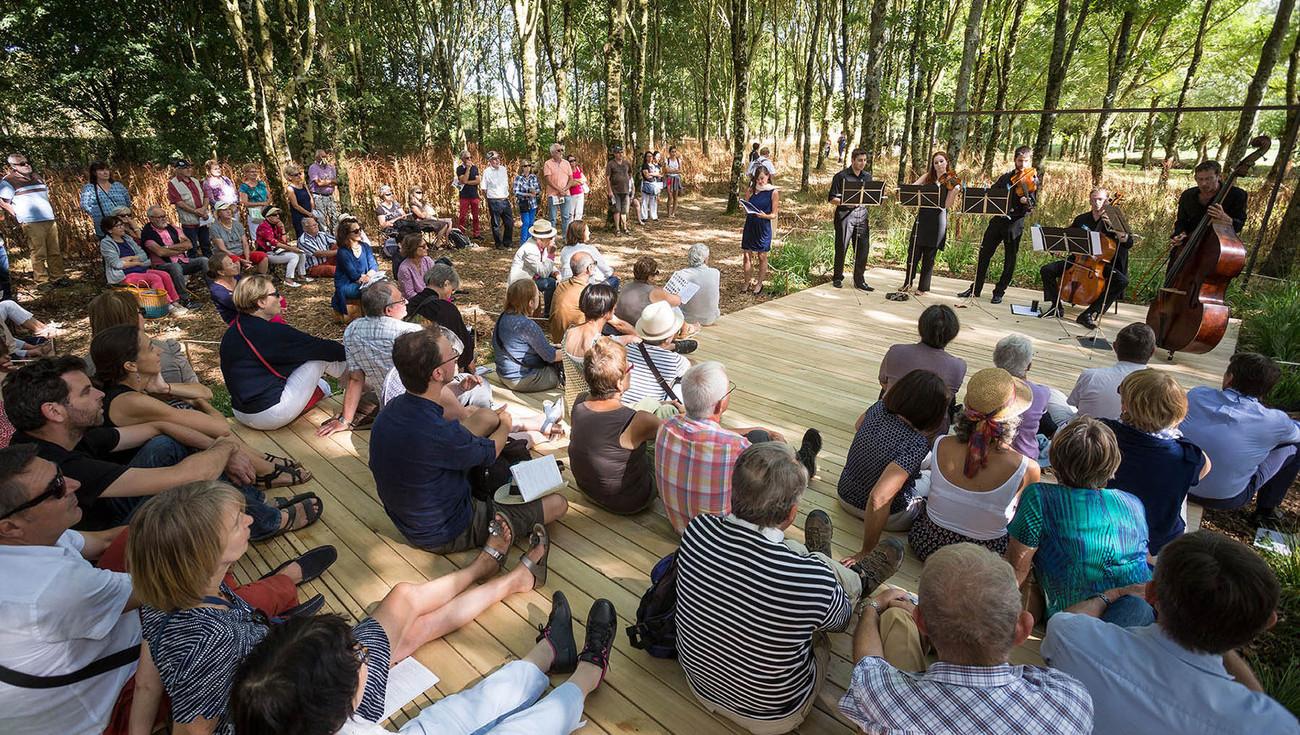 Actualit s cr ation de baroque tr s contemporain au - Festival dans les jardins de william christie ...