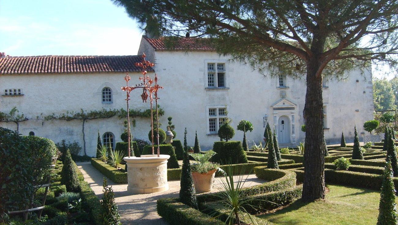 Jardins William Christie Cour Dhonneur Header