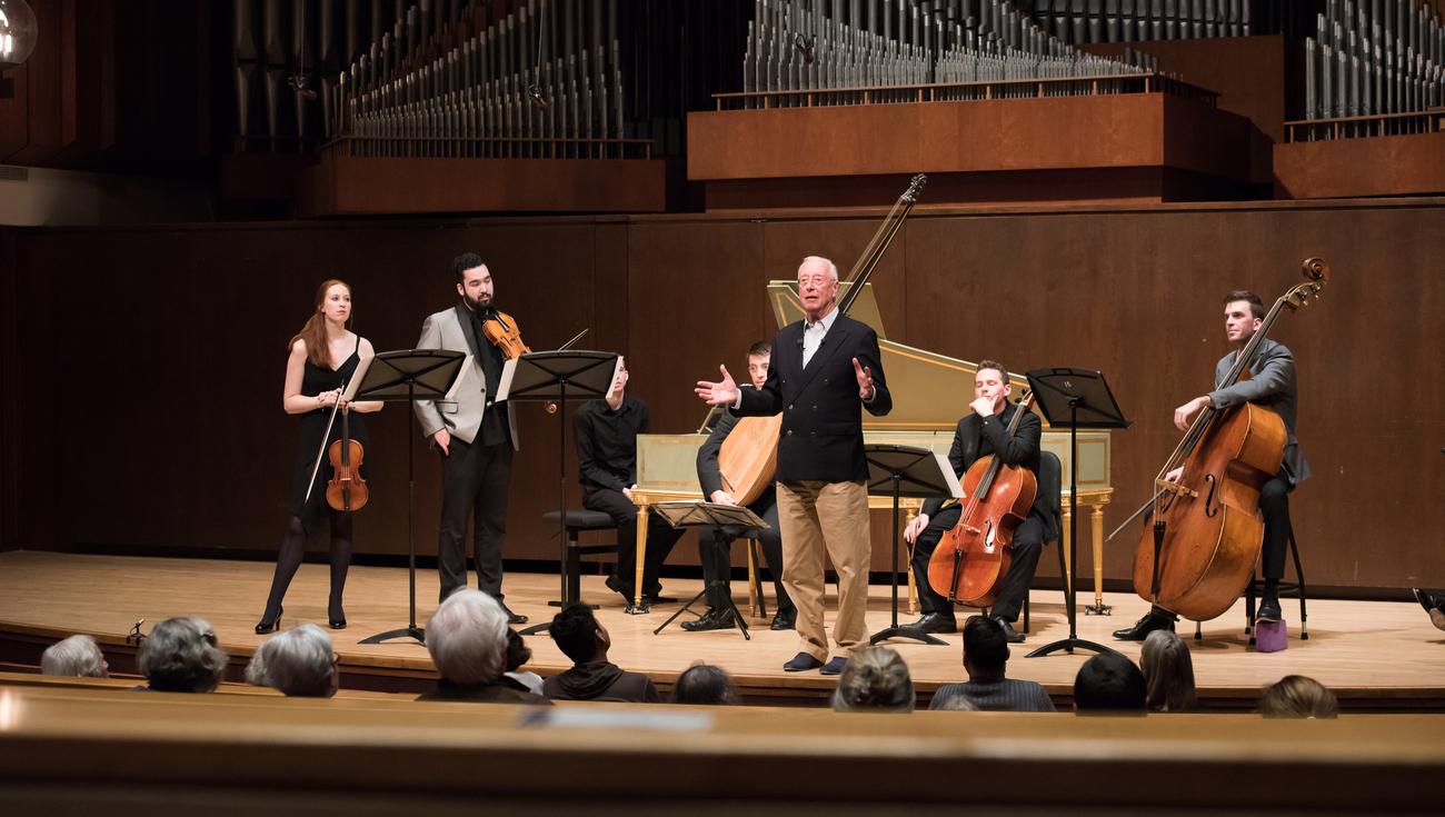 Master class Christie Juilliard 2016