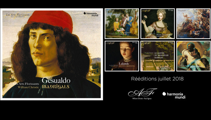 Harmonia Mundi deeditions Arts Florissants Juillet 2018