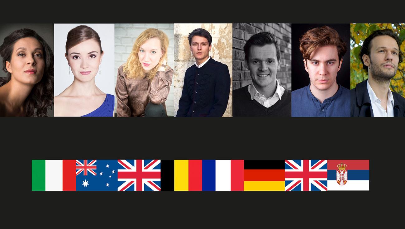 Jardin des Voix 9 lauréats