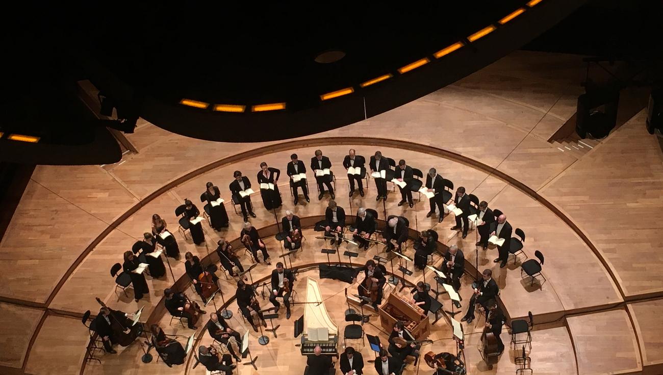 Les Arts Florissants Bach Passion Saint Jean Philharmonie IMG 4125 Juliette Le Maoult
