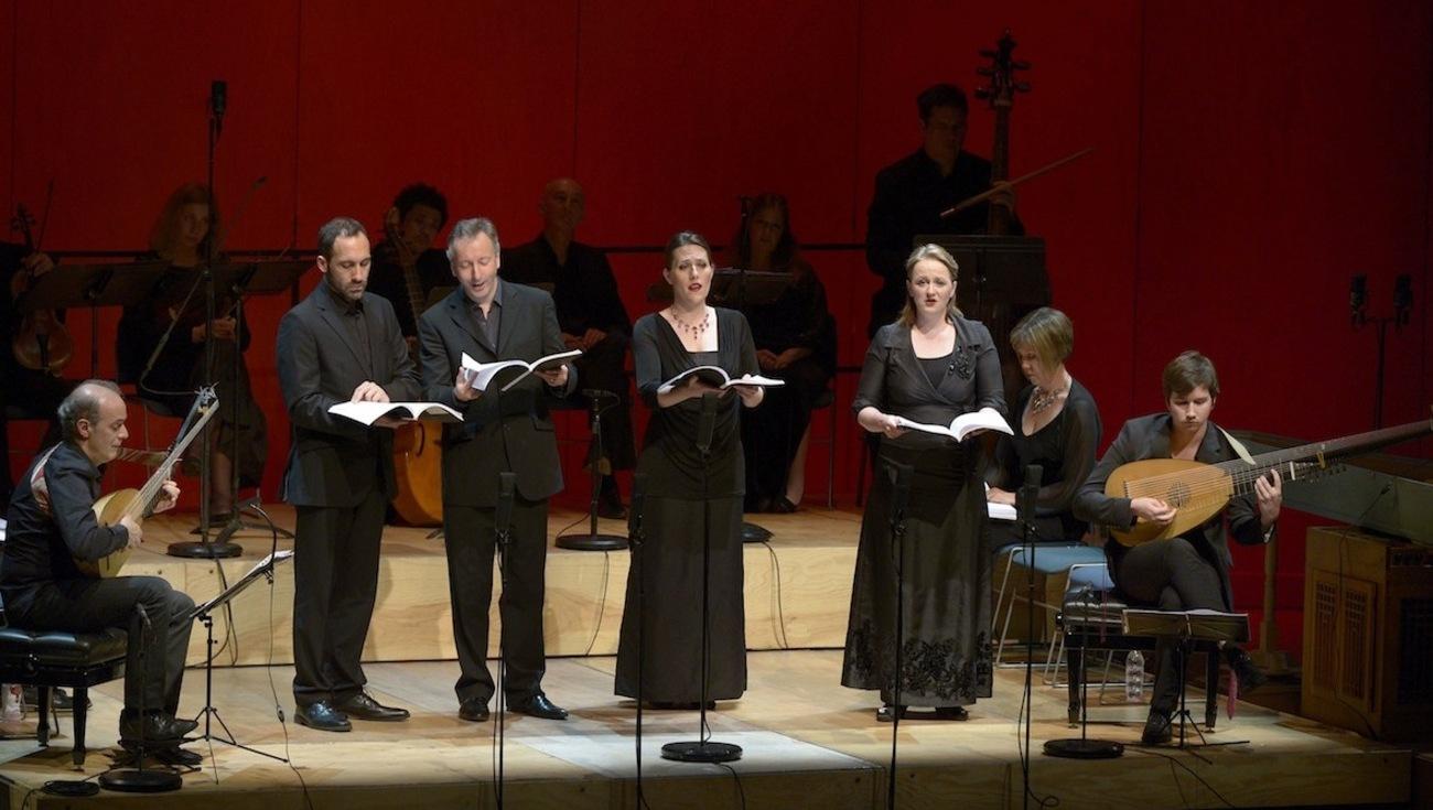 Huitieme Livre Madrigaux Monteverdi 1