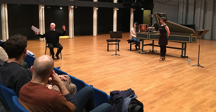 Masterclass William Christie CNSM 2018 01 23 IMG 5615 Juliette Le Maoult