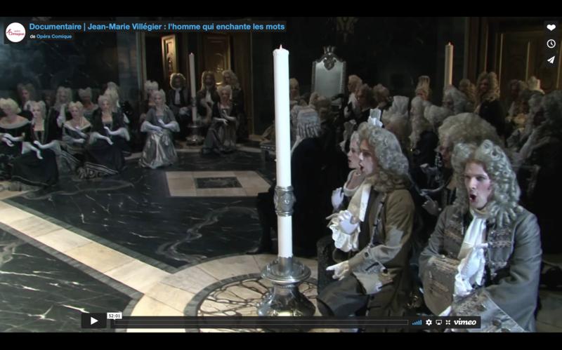 screen documentaire jean marie villegier opera comique