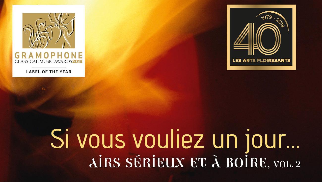 William Christie Si Vous Vouliez Un Jour Airs Serieux Et A Boire Vol 2 Web