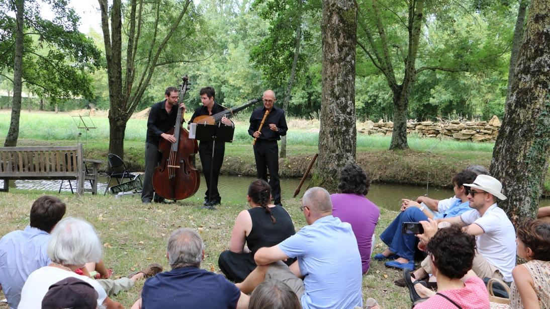 News august 22 2015 opening of the festival dans les - Festival dans les jardins de william christie ...